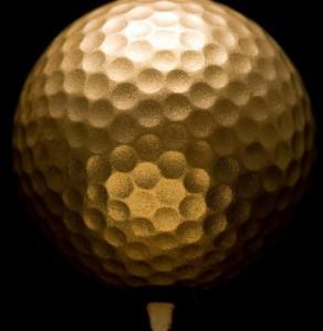 Nike's Giant Golden Balls