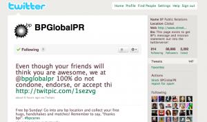 @BPGlobalPR Twitter stream