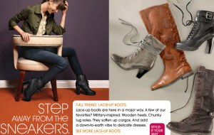 Piperlime Ad: Step Away From the Sneakers