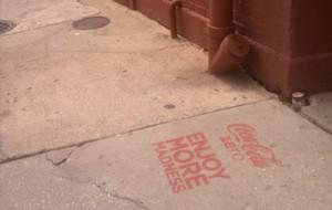 Coca Cola New Orleans graffiti