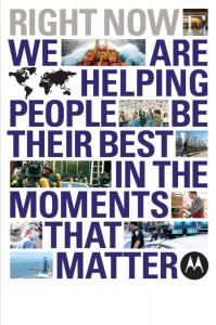 Motorola's approach to marketing