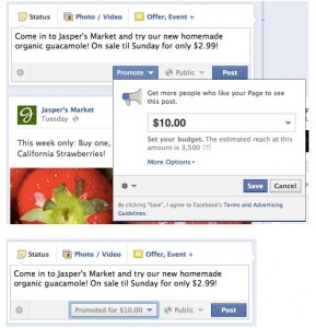 Facebook unveils promoted posts for pages