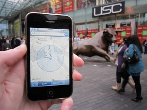 The rise of location-based services