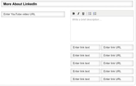 linkedin company module
