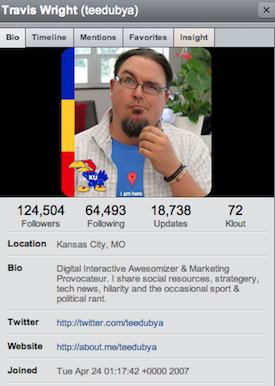 travis wright twitter bio