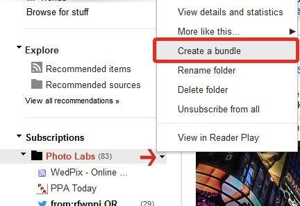 Google RSS bundle