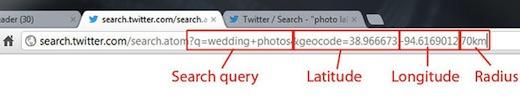 google latitutde longitude query