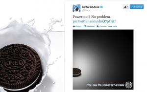 oreo super bowl power outage tweet