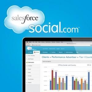salesforce social advertising