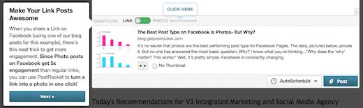 postrank facebook optimization