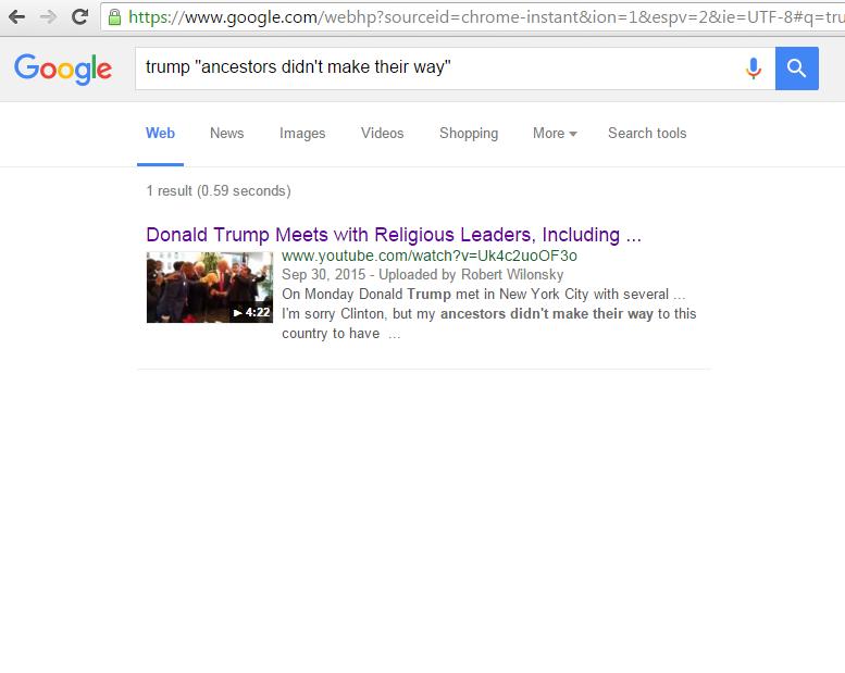 google-search-for-trump-quote