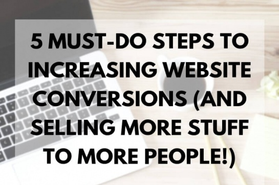 Increasing Website Conversions