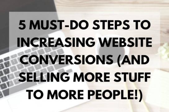 Increasing Website Conversions